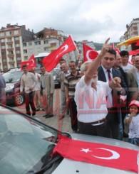 MHP Of Teşkilatından Bayrak Eylemi