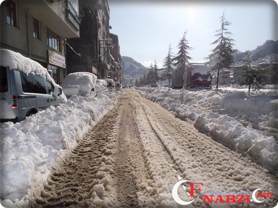 Of'tan Kar Görüntüleri 02.02.2012