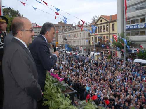 Cumhurbaşkanı Trabzon'a geldi