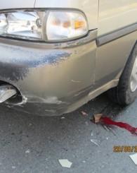 Kalyon mevkiindeki kazada 1 kişi yaralandı