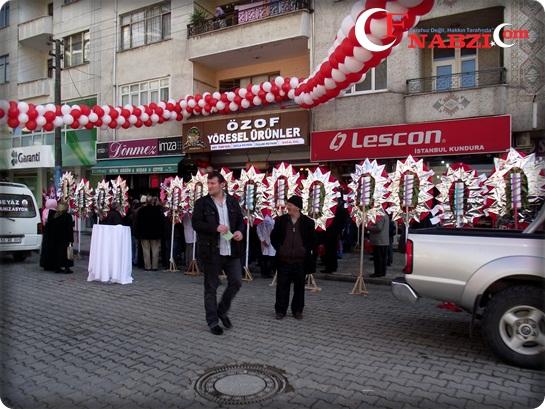 ÖZOF Yöresel Ürünleri hizmete açıldı