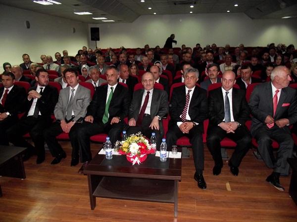 Erdoğan Bayraktar Of'u ziyaret etti