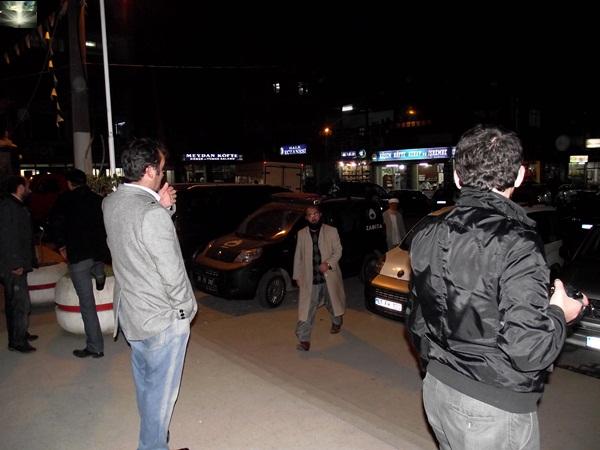 Prof.Dr.Mustafa Kamalak Of'ta coşku ile karşılandı