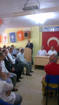 Ak Parti Eylül Danışma toplantısı yapıldı