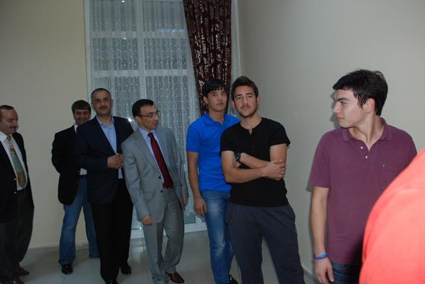 Of Teknoloji Fakültesi Of protokolünü misafir etti