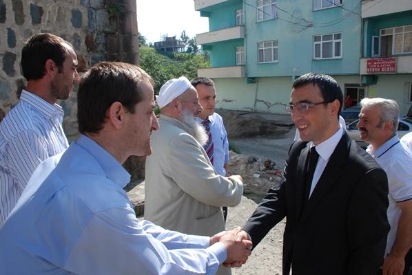 Kaymakam Arslan köy ziyaretlerine devam ediyor