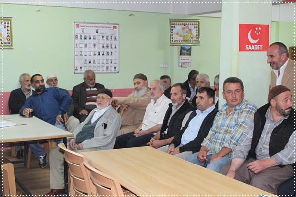 Saadet Partisi Of İlçe Divan Toplantısı Ekim 2012