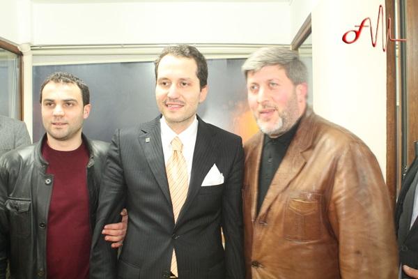 Dr. Fatih Erbakan Of İlçe Teşkilatını ziyaret etti