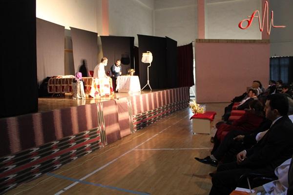 Öğrencilere 'Gelecek Nesiller Solmasın' tiyatrosu
