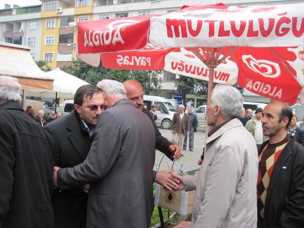 Ahmet Keskin Hakka yürüdü