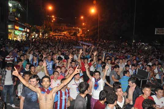 Süper Kupa kutlamaları