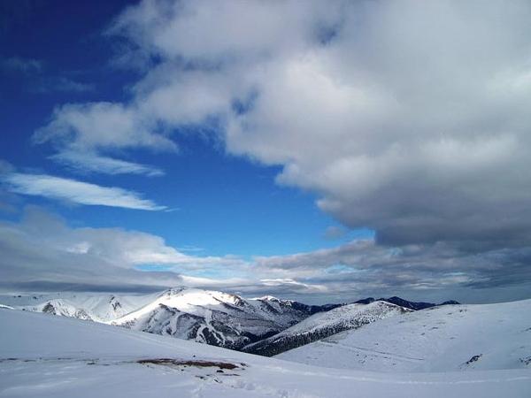 Zigana'dan harika kış manzaraları
