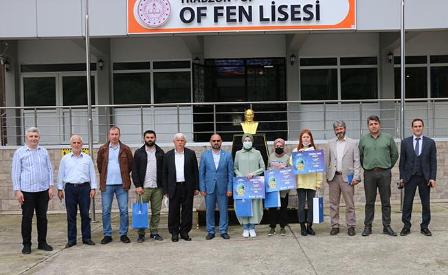 AGD Siyer-i Nebi Yarışmasına Of Fen Lisesi damgası