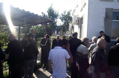 Of Ptt Müdürü Musa Ergün köyündeki aile mezarlığına defnedildi
