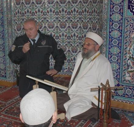 Polis haftası için Mevlid-i Şerif ziyafeti