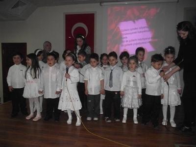 Mikdat Sarıalioğlu İlköğretim okulundan kutlu doğum heyecanı