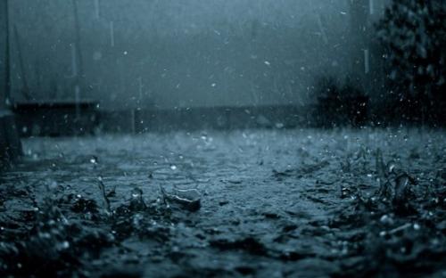 Of'ta şiddetli yağış