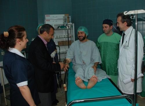 Of Devlet Hastanesinde bir ilk FOTO HABER