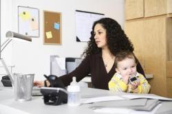 Çalışan annelerin evlat sorunları