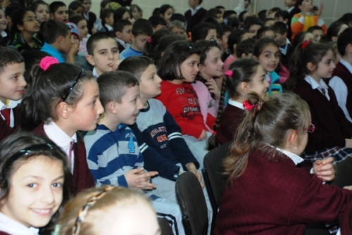 Öğrencilere Bilim Gösterisi
