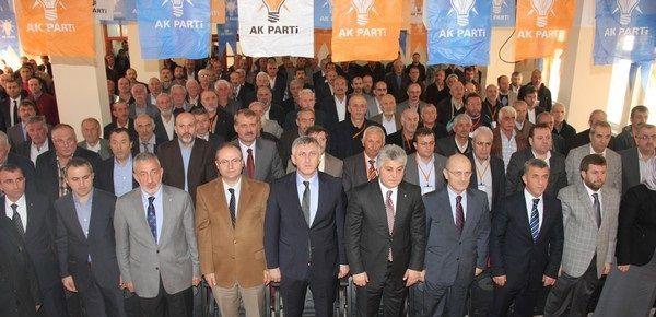 Ak Parti Çaykara'da Temel Şimşek...