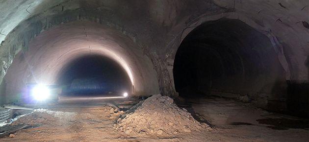 Akyazı Tünelleri Son Aşamasına...