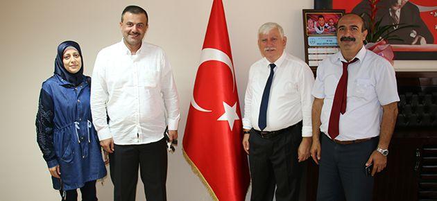 Alradi ailesiden Müdür Kabahasanoğlu'na Teşekkür