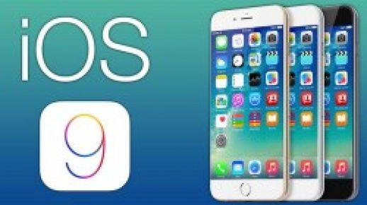Apple iOS 9 güncellemesini yayınladı