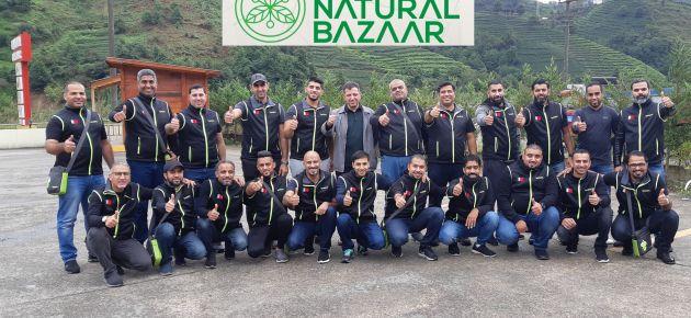 ARAP REHBERLERDEN OF NATURAL BAZAAR'A TEŞEKKÜR