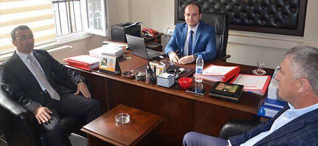 Arslan ve Sarıalioğlu'ndan Yeni Savcı Arslan'a Ziyareti