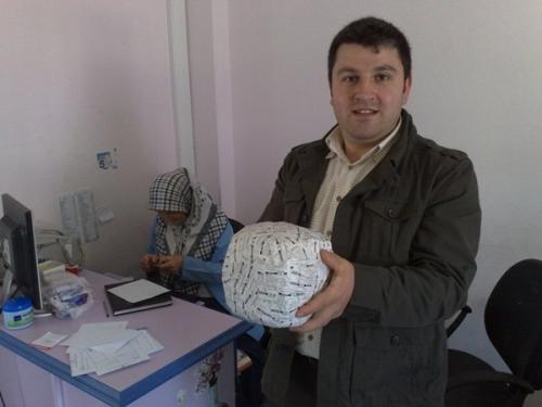 Yaşar Canoğlu'ndan ilginç bir çalışma