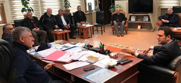Belediye Meclis Üyelerine İade-i Ziyaret