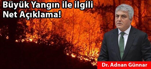 Büyük Yangın ile ilgili Net Açıklama!