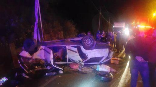 Çamburnu Tüneli mevkiinde kaza 2 ölü 5 yaralı