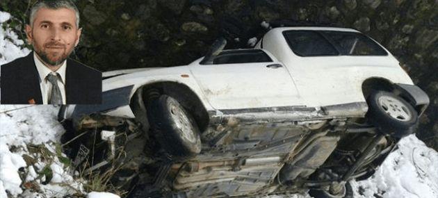 Çaykara da Trafik Kazası