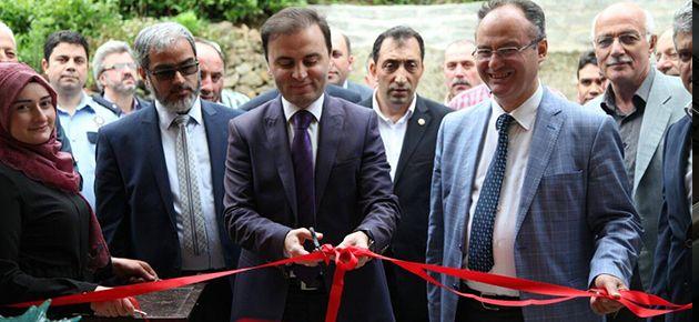 Dernekpazarı'nda Sosyal Tesis Açıldı