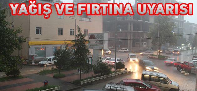 Dikkat! Doğu Karadeniz'e Yağış Uyarısı