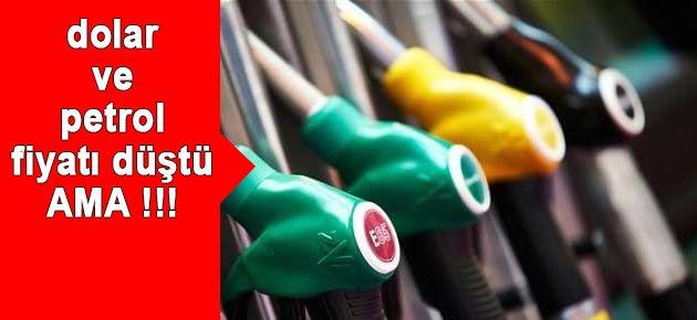 Dolar ve petrol düştü ama!
