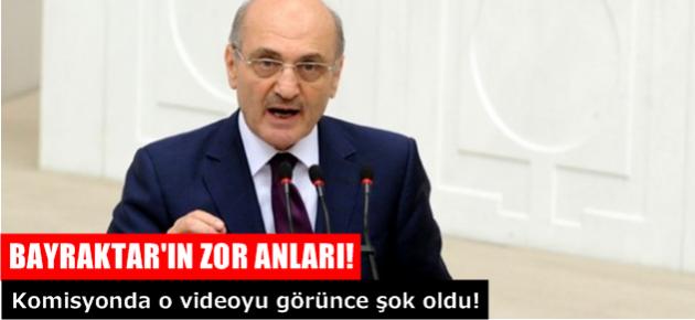 Erdoğan Bayraktar komisyonda ifade verdi