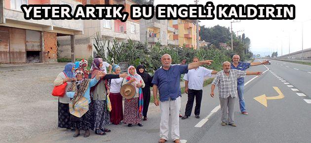 ESKİPAZARLILAR  MAHSUR KALDI!