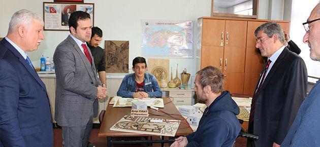 Fırat'tan Engelli Kursiyerlere Ziyaret