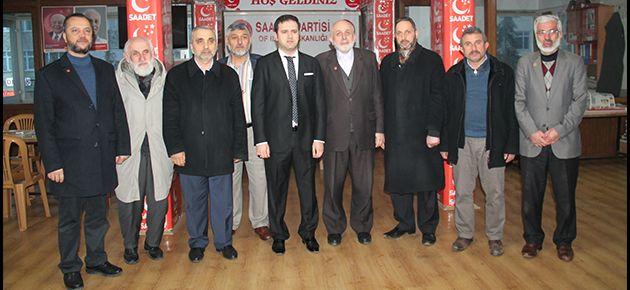 Fırat'tan Saadet Partisi'ne İade-i Ziyaret