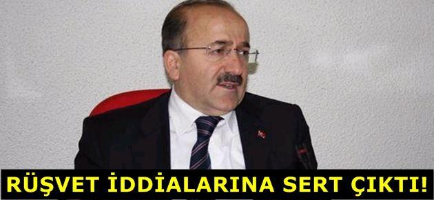 Gümrükçüoğlu 'rüşvet' iddialarına...