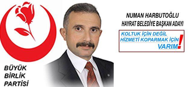 Harputoğlu Hayrat'ta Başkan Adayı mı?