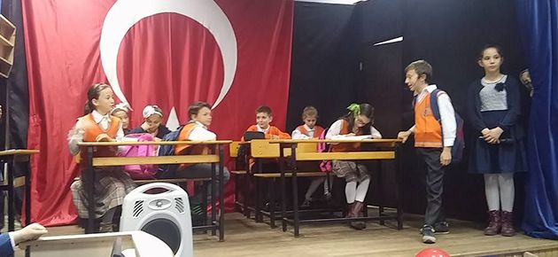 İhsan Karadeniz Ortaokulu Yılsonu Etkinliği