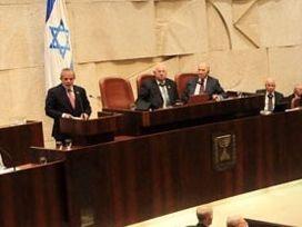 'Soykırım' Siyonist İsrail meclisinde
