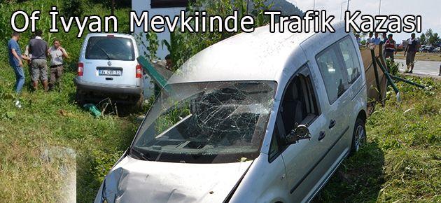İvyan Mevkiinde Trafik Kazası