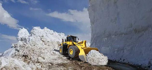 Karla Kaplı Yayla Yolları Açılıyor!