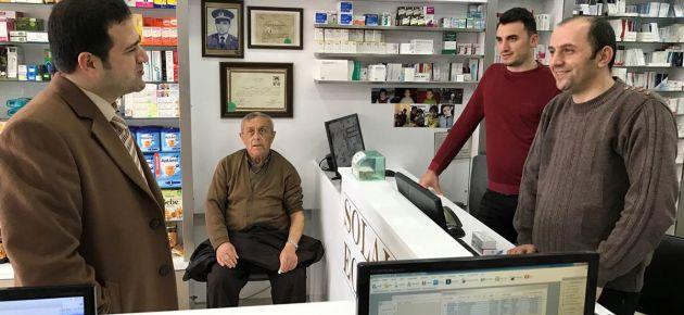 Kaymakam Eyüp Fırat, Atatürk Bulvarı Üzerindeki Esnafları Ziyaret Etti
