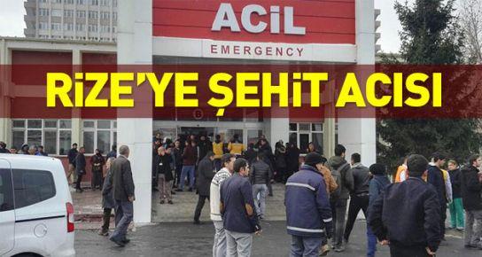 Kayseri'deki terör saldırısında Rizeli asker de şehit oldu